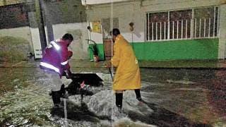 Se inundan 6 casas en Jojutla tras las lluvias 2