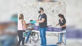 Apoya alcalde de Jojutla con huevo a familias vulnerables 2