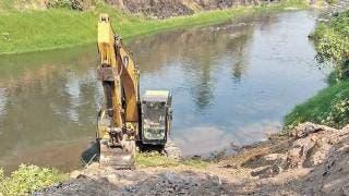 Limpian ribera del Río Apatlaco para evitar inundaciones en Jojutla 2