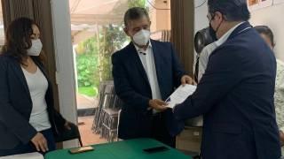 Recibe José Luis Urióstegui constancia como alcalde electo de Cuernavaca 2