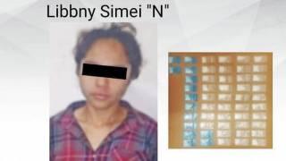 Aseguran a una joven con droga en Morelos 2