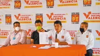 Expone candidato Juan Carlos Valencia proyecto para sistema de agua de Cuautla 2