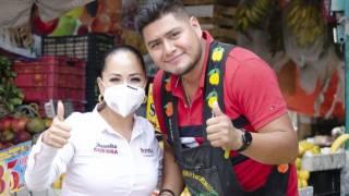 Seguiré apoyando el comercio local: Juanita Guerra 2