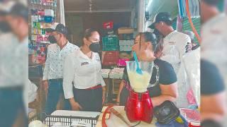 Juanita Guerra hace campaña en Cuautla 2
