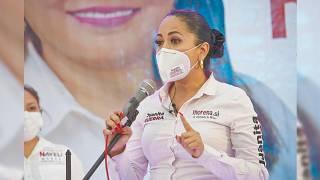 Exige Juanita Guerra resolver denuncias de ataques a candidatos 2