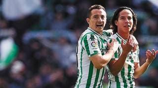 Esperan Lainez y Guardado a más jugadores mexicano en España 2