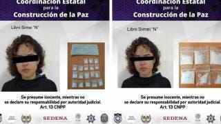 En menos de una semana, Libni Simei ya ha sido detenida 2 veces por traer droga, en Jiutepec 2