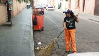 Pondrán a barrer a quienes no usen cubrebocas en Cuernavaca 2