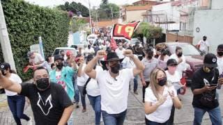 Suma Lobito apoyo de familias de Amatitlán, en Cuernavaca 2