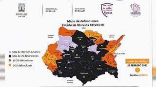 En Morelos, 183 contagios y 29 decesos por COVID19 2