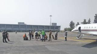 Implementan cerco sanitario en el Aeropuerto Mariano Matamoros de Morelos 2