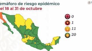 Se queda Morelos en amarillo por alza en sospechosos COVID 2