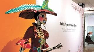 Expone MMAPO catrinas artesanales 2