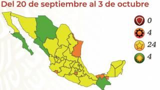 Morelos seguirá en color naranja 2 semanas más 2