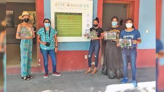 Dan taller de cianotipia en el Museo de Revolución del Sur 2