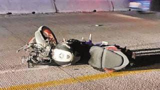 Muere motociclista en el Paso Express 2