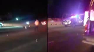 Muere motociclista tras accidentarse en el Paso Express Cuernavaca 2