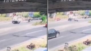 Así fue el choque y muerte de un motociclista en la Cuernavaca-Cuautla 2