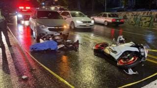 Muere motociclista tras accidentarse en la carretera federal México-Cuernavaca 2