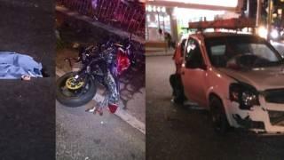 Ebrio conductor impacta a motociclistas en Cuernavaca; muere una mujer 2