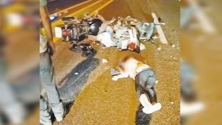 Chocan motociclistas y salen 3 lesionados en Xochitepec 2