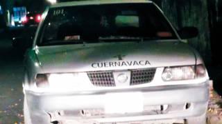 Aparece chofer en cajuela de auto en Cuernavaca 2