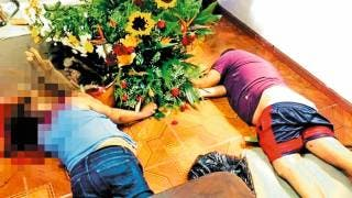 Matan a madre e hijos; eran adoradores de la Santa Muerte 2