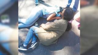 Atropellan a dos mujeres en moto en Cuernavaca 2