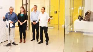 """Inauguran """"la pieza del mes"""" en el MMAPO, Nacimiento en obsidiana 2"""