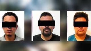 Rescatan a una mujer secuestrada y detienen a 3 plagiarios 2