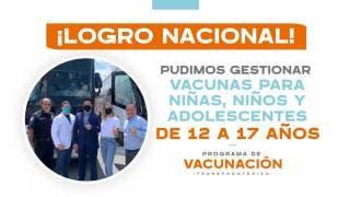 Menores de Nuevo León podrán ser vacunados vs COVID19 en Estados Unidos 2
