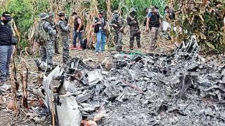 Espera Gobierno confirmación de que jet accidentado en Guatemala sea el robado en Morelos 2