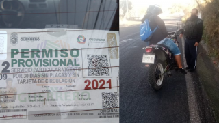 """Arman """"cacería"""" en Cuernavaca contra motos y autos con permisos de Guerrero,"""