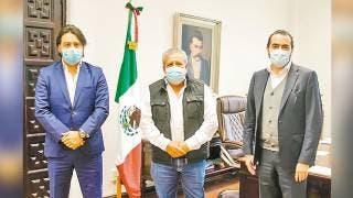 Planean obras Secretario de Gobierno y alcalde de Atlatlahucan 2