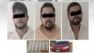 Detienen a sujetos por pagar con billetes falsos en Temixco 2