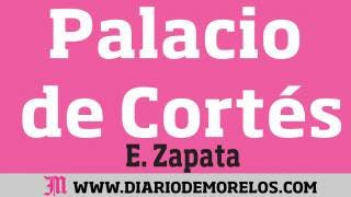 Palacio de Cortés:  Arreando a transeúntes y comerciantes en Morelos 2