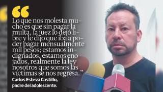 Liberan a ex policía que mató a Carlitos Esteva  2