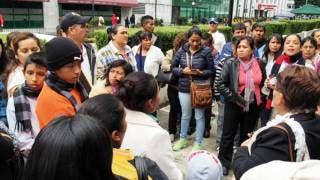 Delegación. Los menores recibieron sus documentos en la Embajada de Estados Unidos en México.