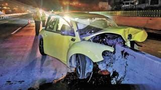 Muere conductor en el Paso Express Cuernavaca 2