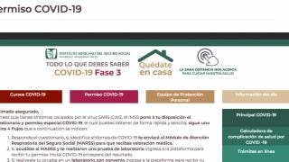 Habilita IMSS plataforma para obtener Permiso COVID19 2