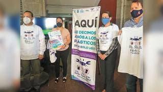 Arrancan campaña contra plástico de un solo uso en Morelos 2