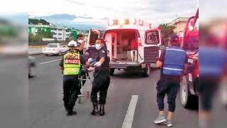 Se lesiona policía accidentalmente, durante operativo en Morelos 2