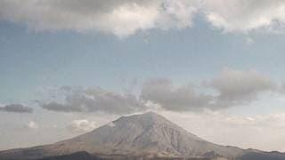 Mantiene el Popocatépetl su actividad 2