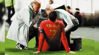 Sale Cristiano Ronaldo lesionado en empate de Portugal con Serbia 2
