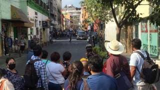 Filman Gardenia, de Netflix, en el Centro de Cuernavaca, entre cierre de calles 2