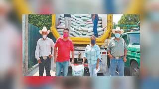 Dan fertilizantes a productores en Miacatlán 2