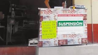 Ponen sellos de suspensión a 12 negocios por subir precios en Morelos 2
