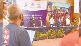 Reconoce Cuauhtémoc Blanco trabajo de Protección Civil 2