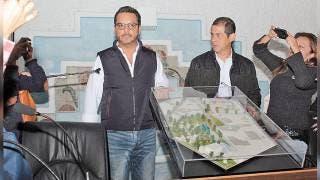 Presenta alcalde maqueta de proyecto para el parque Melchor Ocampo 2