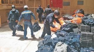 Queman uniformes caducos en CES 2